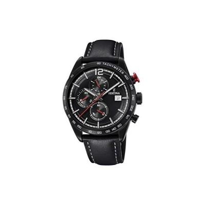 Festina Mens Chronograph Quartz Watch with Leather Strap F20344/3 並行輸入品