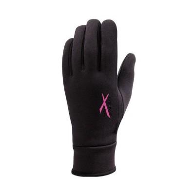セイラス SEIRUS EXオールウェザーグローブ レディース ブラック×ベリー グローブ 手袋 全天候型 完全防水