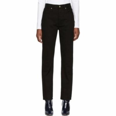 ゴールドサイン Goldsign レディース ジーンズ・デニム ボトムス・パンツ black the benefit high rise jeans Painted black