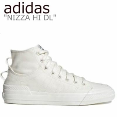 アディダス スニーカー adidas メンズ レディース NIZZA HI DL ニッツァハイ WHITE ホワイト G58620 シューズ