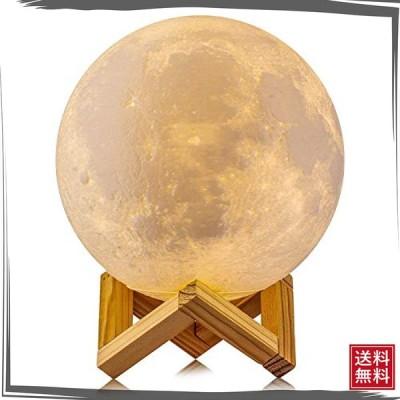 フロアライト 間接照明 テーブルランプ ベッドサイドランプ インテリア照明 ボール型ランプ 月のランプ 3Dプリ