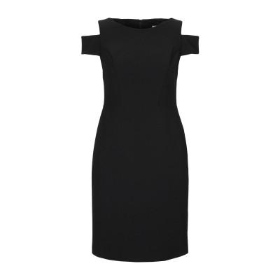 JOSEPH RIBKOFF ミニワンピース&ドレス ブラック 8 ポリエステル 95% / ポリウレタン 5% ミニワンピース&ドレス