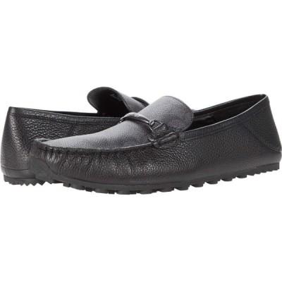 コーチ COACH メンズ ドライビングシューズ シューズ・靴 Collapsible Heel Signature Driver Charcoal/Black