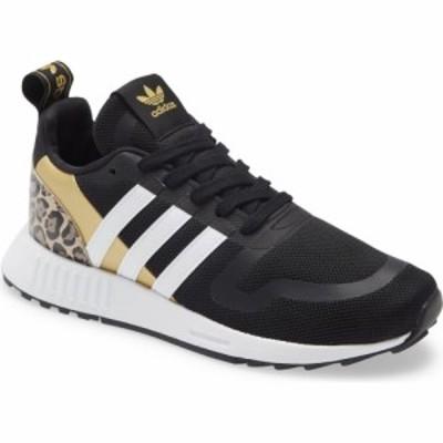 アディダス ADIDAS レディース スニーカー シューズ・靴 Multix Sneaker Core Black/White/Gold