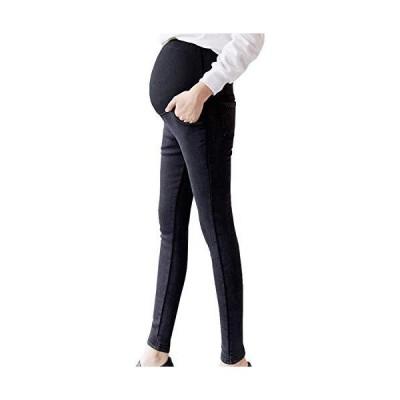 日本ブランドSHIWEI 妊娠のズボン ゆったり マタニティ デニム ストレッチ パンツ スキニー 美ライン産前 産後