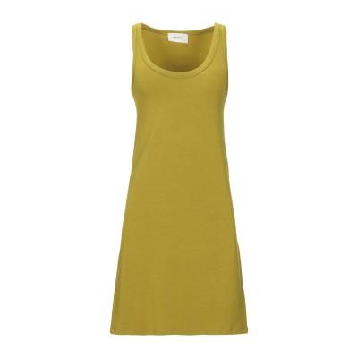 VICOLO ミニワンピース&ドレス ビタミングリーン one size レーヨン 95% / ポリウレタン 5% ミニワンピース&ドレス