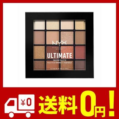 NYX Professional Makeup(ニックス プロフェッショナル メイクアップ) UT シャドウ パレット 03 カラー・ウォーム ニュー