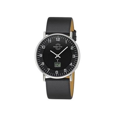 Master Time Radio Advanced Series Men's Slim Watch, MTGS-10560-22L, Leather Wrist Watch 並行輸入品