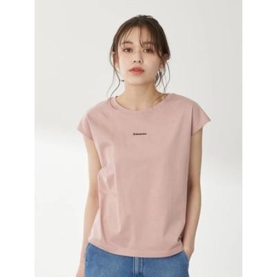 ミニロゴノースリーブTシャツ