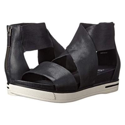 アイリーンフィッシャー Eileen Fisher レディース サンダル・ミュール シューズ・靴 Sport Black Tumbled Leather