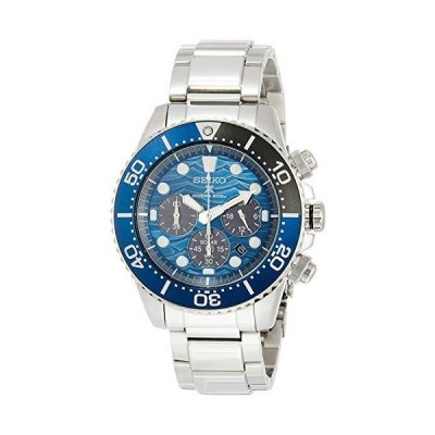 [セイコーウォッチ] 腕時計 プロスペックス ソーラークロノグラフ Save the Ocean Special Edition ブルー文字盤 SBDL059