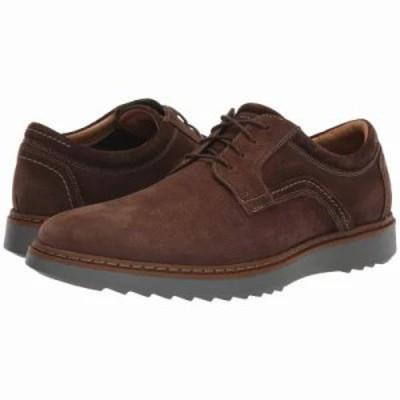 クラークス 革靴・ビジネスシューズ Un Geo Lace Dark Brown Nubuck