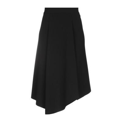 VANITA' ひざ丈スカート ブラック 42 ポリエステル 95% / ポリウレタン 5% ひざ丈スカート