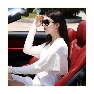 Uoyov Beach Driving Sun Protection Clothing Summer Women Outdoor Riding Sun Protection Shawl Thin Section Sun Protection Cloak Anti-Ultravio