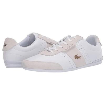 ラコステ Oreno 120 1 U メンズ スニーカー 靴 シューズ White/Gold