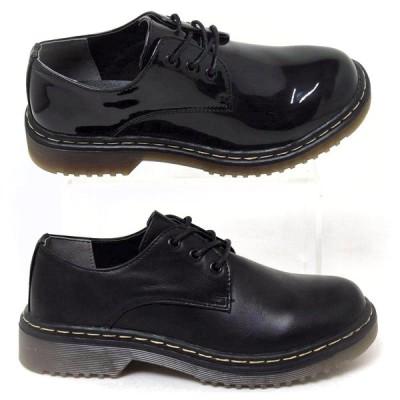 レディースシューズ レースアップ オックスフォード 4420 マニッシュ おじ靴 紐靴 カジュアル 送料無料