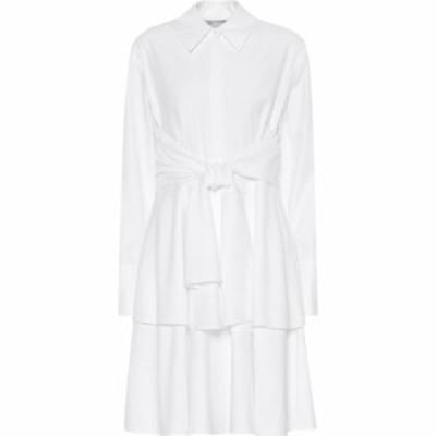 ステラ マッカートニー Stella McCartney レディース ワンピース シャツワンピース ワンピース・ドレス Cotton shirt dress pure white