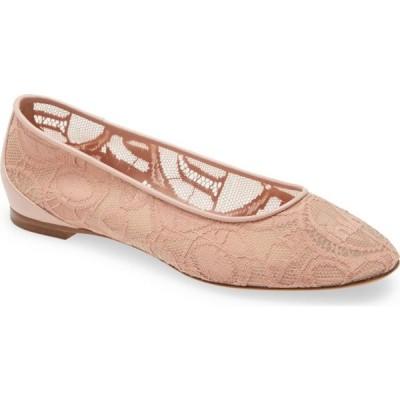 クロエ CHLOE レディース スリッポン・フラット バレエシューズ シューズ・靴 Lauren Ballerina Flat Pink Tea