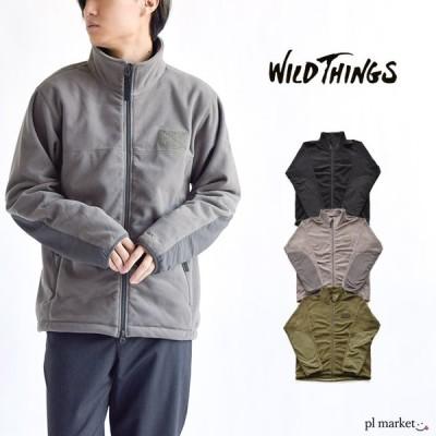 WILD THINGS ワイルドシングス ポーラテック ウインド ジャケット アウター ジャケット  アウトドア カジュアル シンプル メンズ ジャンパー フリースジャケット