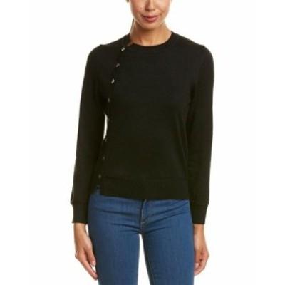 MoDA  ファッション トップス Few Moda Button-Up Sweater S Black