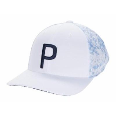 プーマ メンズ 帽子 アクセサリー 16 Bit Floral P 110 Snapback Cap Bright White