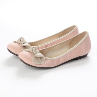 リーカ RiiiKa リボンフラットパンプス (pink)