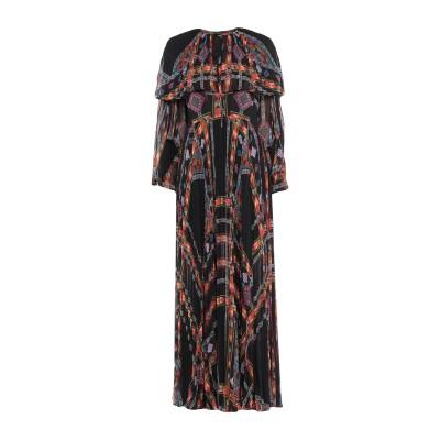 エトロ ETRO ロングワンピース&ドレス ブラック 38 ポリエステル 100% ロングワンピース&ドレス
