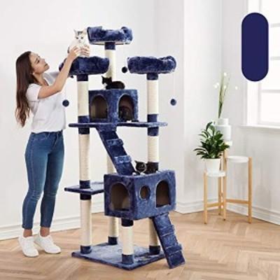 YM 2019新しい大猫の木猫の巣高級猫ヴィラペットのおもちゃペットの巣 - 3 (中古品)