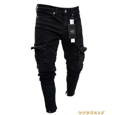 スキニーデニム メンズ ボトムス ジーンズ ジーパン ストレッチ ファッション スウェット デニムパンツ 40代 50代 60代