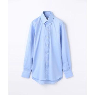 TOMORROWLAND/トゥモローランド 140/2コットンロイヤルオックスフォード ボタンダウン ドレスシャツ NEW BD-4 ブルー 39