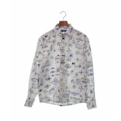 PACCBET ラスベート カジュアルシャツ メンズ