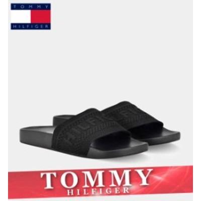 トミーヒルフィガー スライドサンダル シャワー ビーチ シューズ レディース ウィメンズ ロゴ 靴 新作 TOMMY