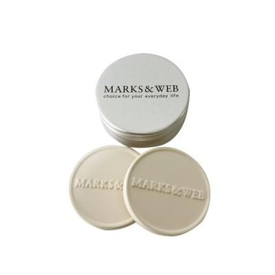 【MARKS&WEB マークス&ウェブ】 セラミック アロマプレート(2枚) アロマ 芳香 雑貨 【マークスアンドウェブ】