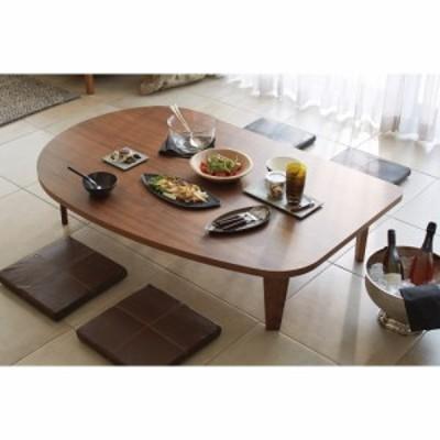 家具 収納 テーブル 机 折りたたみテーブル 折れ脚コミュニケーションローテーブル 幅150cm H83910