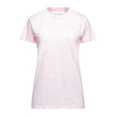 ELEVEN PARIS T シャツ ライトピンク XS コットン 100% T シャツ