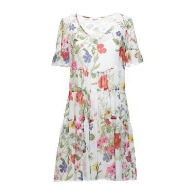 ブルーガール ブルマリン BLUGIRL BLUMARINE ミニワンピース&ドレス ホワイト 42 ポリエステル 100% ミニワンピース&ドレス