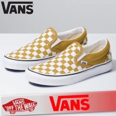 VANS バンズ スリッポン スリップオン スニーカー シューズ メンズ チェッカーボード クラシック 靴 オリジナルクラシック 新作 ヴァンズ