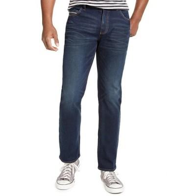 サンアンドプラスストーン デニムパンツ ボトムス メンズ Men's Jefferson Straight-Fit Jeans,  Dark Blue