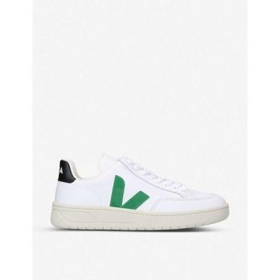 ヴェジャ VEJA レディース スニーカー シューズ・靴 V-12 leather trainers WHITE/COMB