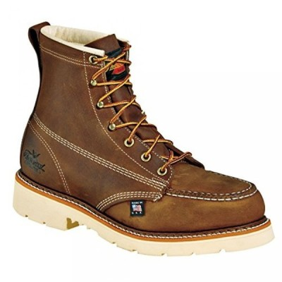"ソログッド メンズ ブーツ Thorogood Men's 6"" Steel Toe Electrical Hazard Work Boot"