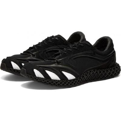 ワイスリー Y-3 メンズ スニーカー シューズ・靴 runner 4d Black/White