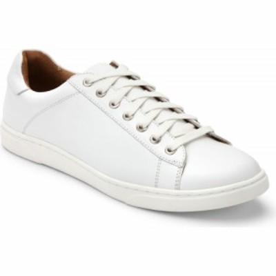 バイオニック VIONIC メンズ スニーカー シューズ・靴 Baldwin Water Repellent Sneaker White Leather