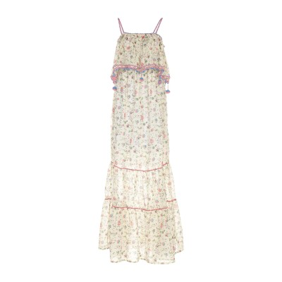 アンジュナ ANJUNA ロングワンピース&ドレス ベージュ S コットン 100% ロングワンピース&ドレス