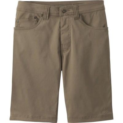 """プラーナ PRANA メンズ ショートパンツ ボトムス・パンツ Brion 9"""" Shorts MUD"""