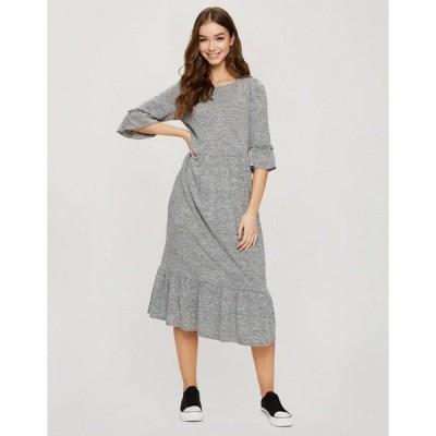 ミスセルフフリッジ レディース ワンピース トップス Miss Selfridge midi smock dress in gray heather Gy1