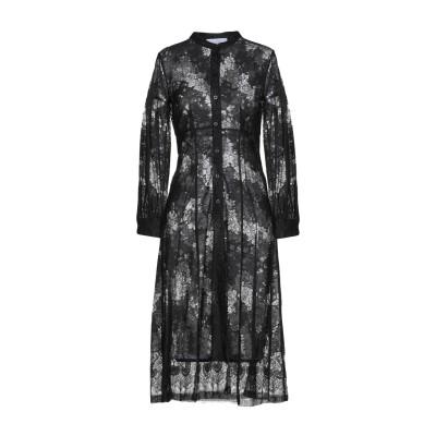 カオス KAOS 7分丈ワンピース・ドレス ブラック 42 65% コットン 35% ナイロン 7分丈ワンピース・ドレス