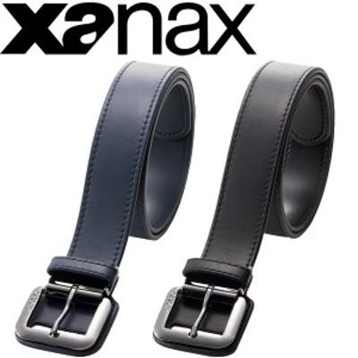 ベルト 野球 ソフトボール ザナックス XANAX 合成皮革 ウエスト100cm対応 チーム 部活 学生 一般/BB-21