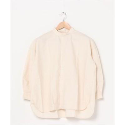 シャツ ブラウス クラシックツイルオーバーシャツ