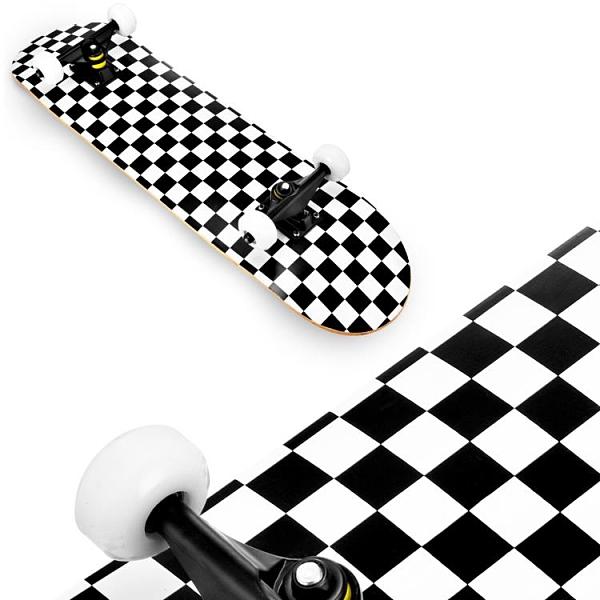 滑板初學者青少年雙翹板動作刷街式專業四輪短板男女生兒童滑板車 初色家居館