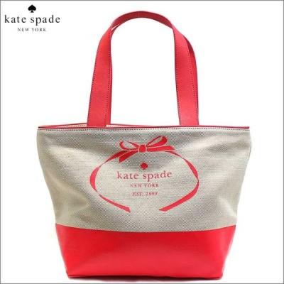 ケイトスペード kate spade バッグ トートバッグ キャンバス レザー 本革 ブランド アウトレット リボンA4 5584